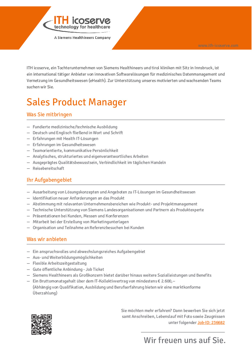Sales Product Manager (m/w)