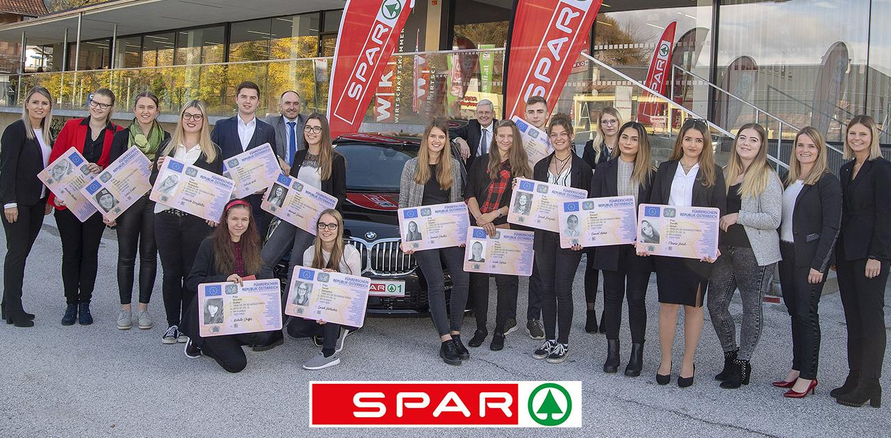 SPAR-Lehrlinge | 5 SPAR-Meister ausgezeichnet